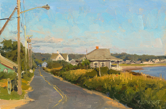 End of Summer, Wellfleet 8 x 12