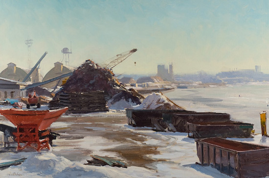 Mississippi River Scrap    20x30   _15_000