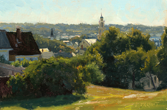 Summer Morning, Gloucester  8x12 3,400